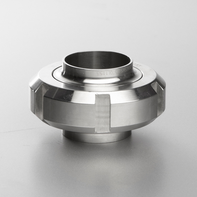 SMS Dairy Unions Round Nut with 6 Slots