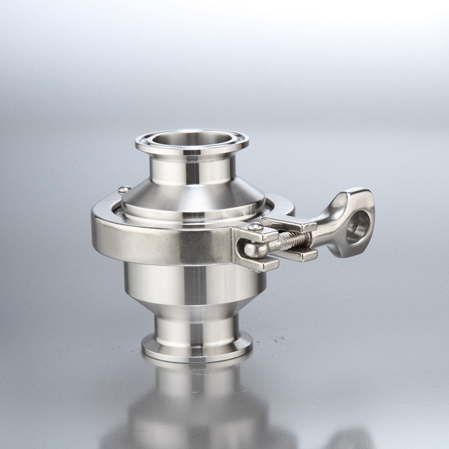 Sanitary Check Valve Clamp End Spring Closed