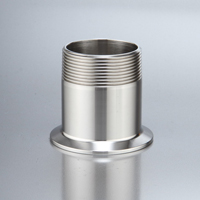14MPT Clamp x NPT Male
