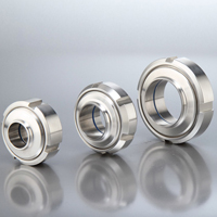 DIN11851 Unions Round Nut with 4 Slots