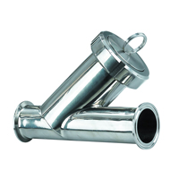 Y-Strainer Filter Clamp End