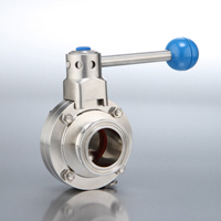 B5101 Series Butterfly Valves Clamp End with Pull Handle