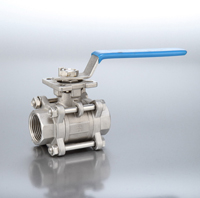 3-Piece Stainless  Ball Valve BSP Female End