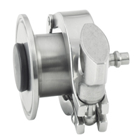 Sanitary Air Blow Check Valves Quick-Connect Plug
