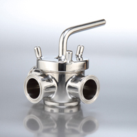 SPX Sanitary 3-Way Plug Valves
