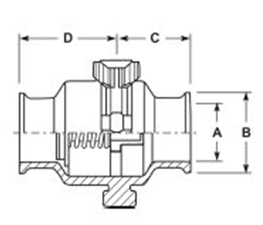 Check Valve Clamp Ends